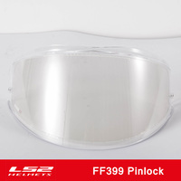 100% Original LS2 Valiant Motorcycle Helmet visor clear Pinlock Anti fog patch only for LS2 FF399 Lens Anti fog Film