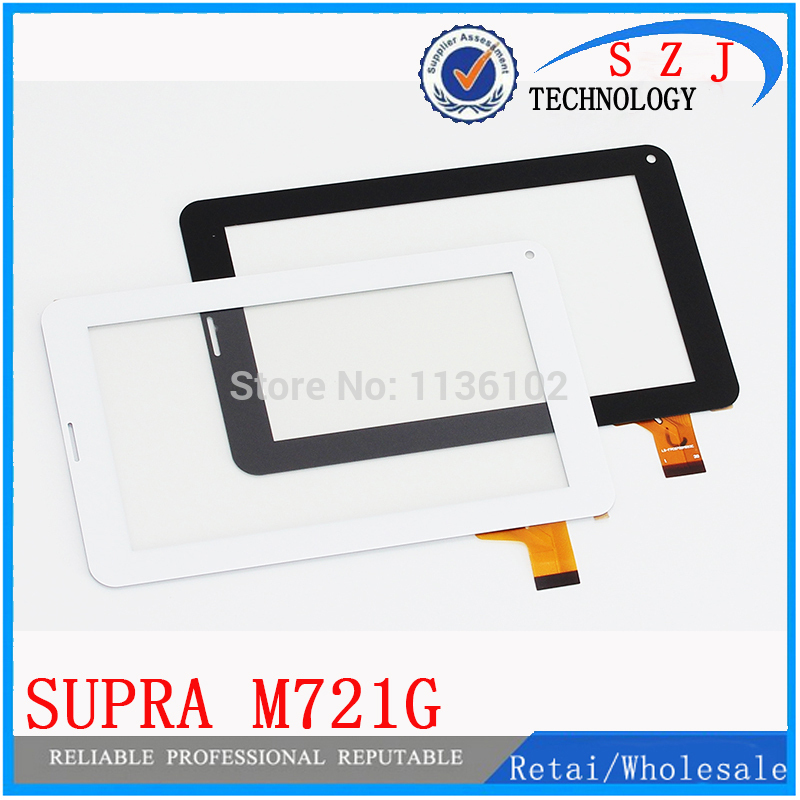 New 7 inch case for SUPRA M721G Tablet Capacitive touch screen panel Digitizer Glass Sensor replacement Free Shipping black new for capacitive touch screen digitizer panel glass sensor 101056 07a v1 replacement 10 1 inch tablet free shipping