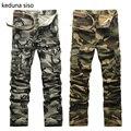 2016 pantalones Tácticos del ejército Otoño CALIENTE moda basculador patchwork harem colgando entrepierna pantalones hombres pantalones de Camuflaje pantalones entrepierna grande