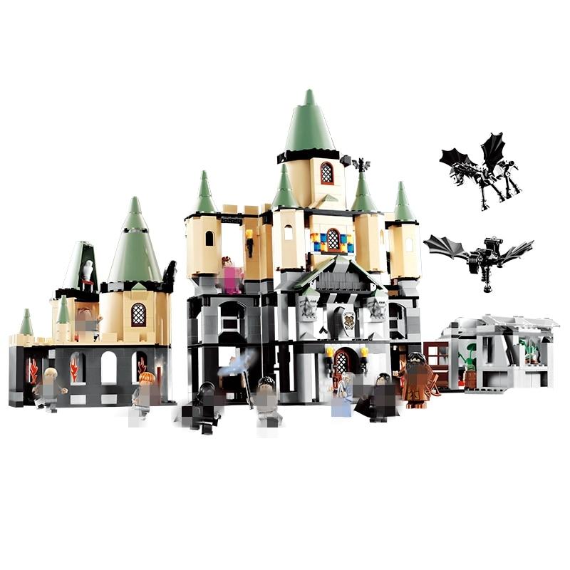 New Harry Hogwarts Castle Dolores Umbridge Building Blocks Kit Bricks Classic Movie City Model Kids Toys Potter Compatible Legoe цена