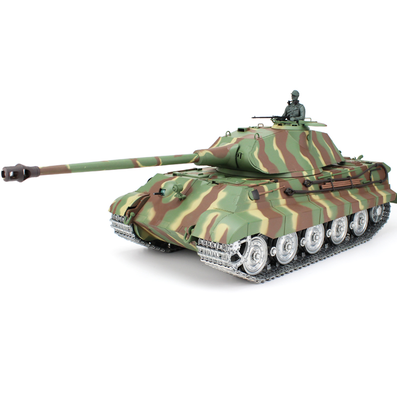 HengLong 1/16 Scale Customized Version German King Tiger RTR RC Tank 3888 купить недорого в Москве