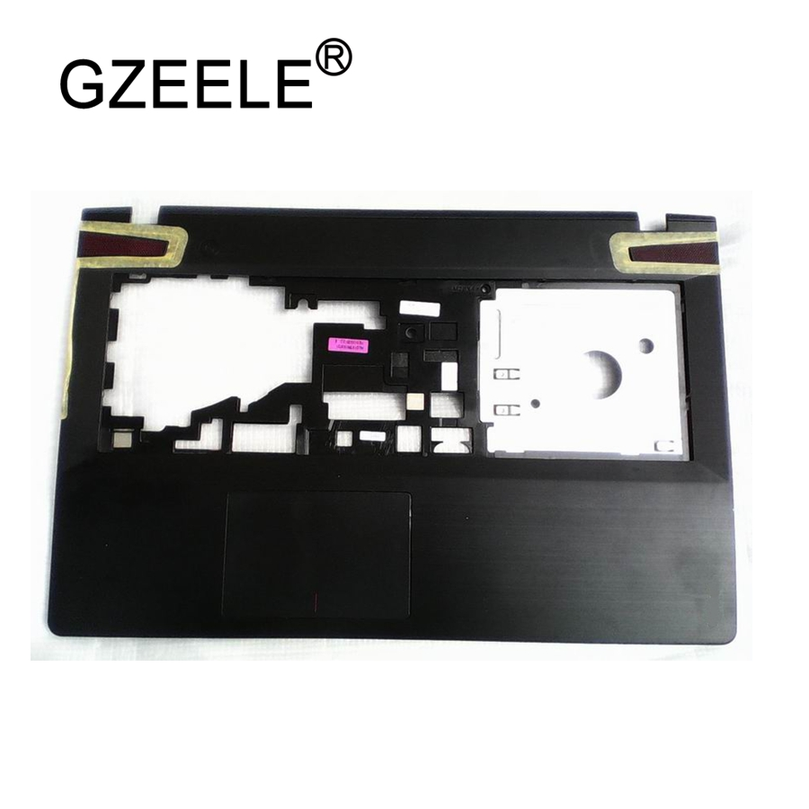 GZEELE New For <font><b>Lenovo</b></font> IdeaPad <font><b>Y500</b></font> Y510 Y510P Palmrest Keyboard Bezel Upper <font><b>Case</b></font> cover AP0RR00050 TOP COVER Palmrest NO Touchpad image