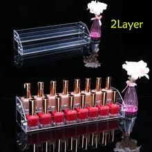 TOP Acrylic Makeup Nail Polish Storage Organizer 2/3/4/5/6 /7Layer Rack Display Stand