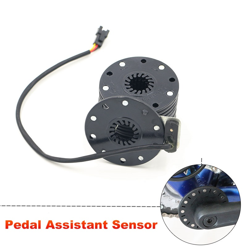 Js New Electric Bicycle Pedal Assist Sensor 5 Magnets Pas System Speed Sensor Connect Motor