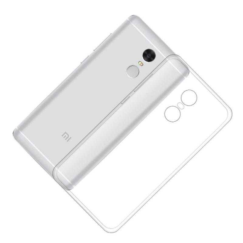 Para xiaomi redmi note hongmi note case note4x 4x 4x clear tpu suave silicona tr