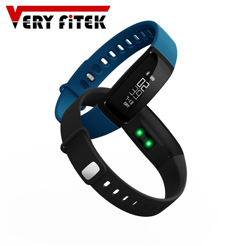 VF49 Smart Band צמיד שעון Bluetooth עם קצב לב צג לחץ דם גשש כושר Wristbands עבור טלפון אנדרואיד iOS