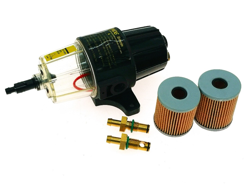 2 Ferrules Water Filter Assembly Kit Includes 2 Disks 2 Connectors D418