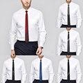 2016 Brand New 1200 Agulhas Gravata Fina Para Homens 100% De Seda Gravata 6 cm Gravata Skinny Narrow Gravata Clássico Casamento Negócios