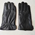 Men Gloves Leather Trendy Sheepskin Guantes Mujer Winter New 2016 Thicken Gloves Real Leather Glove Trendy Gentmen Luvas Guantes
