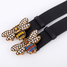 Designer Belts Real-Leather Women Luxury Genuine Jeans Girl High-Quality Lady Narrow