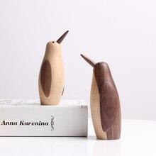 купить Europe Creative High-quality Maple Little penguin miniature figurines tabletop craft home decoration accessories modern по цене 2853.01 рублей