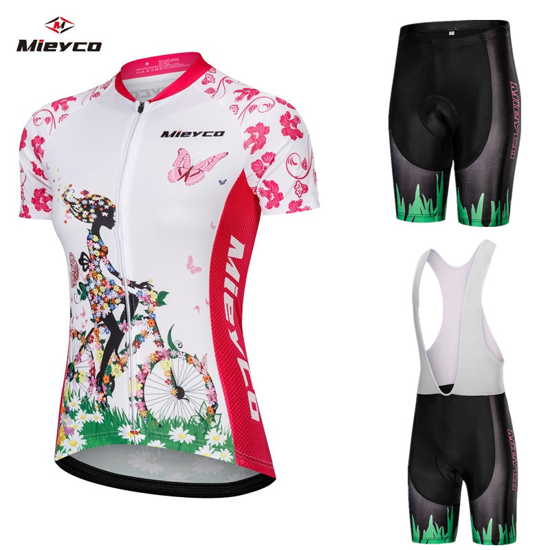 Women 2019 Hot Road Retro Cycling Jersey Team Bike Wear Clothing Riding Racing MTB maillot ropa ciclismo Summer Cycling Clothes