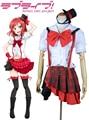 Free Shipping Love Live! Nishikino Maki White Lolita Dress Cosplay Costume