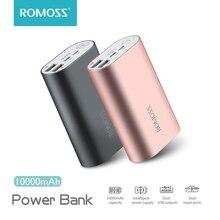 ROMOSS ACE A10 10000mAh Power Bank Dual USB Outputs Aluminum Alloy External