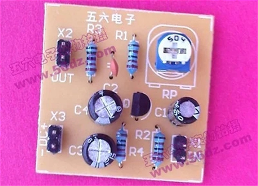 Diy Kit Single tube amplifier kit potentiometer bias circuit of transistor  amplifying electronics experiment Electronic suite-in Integrated Circuits