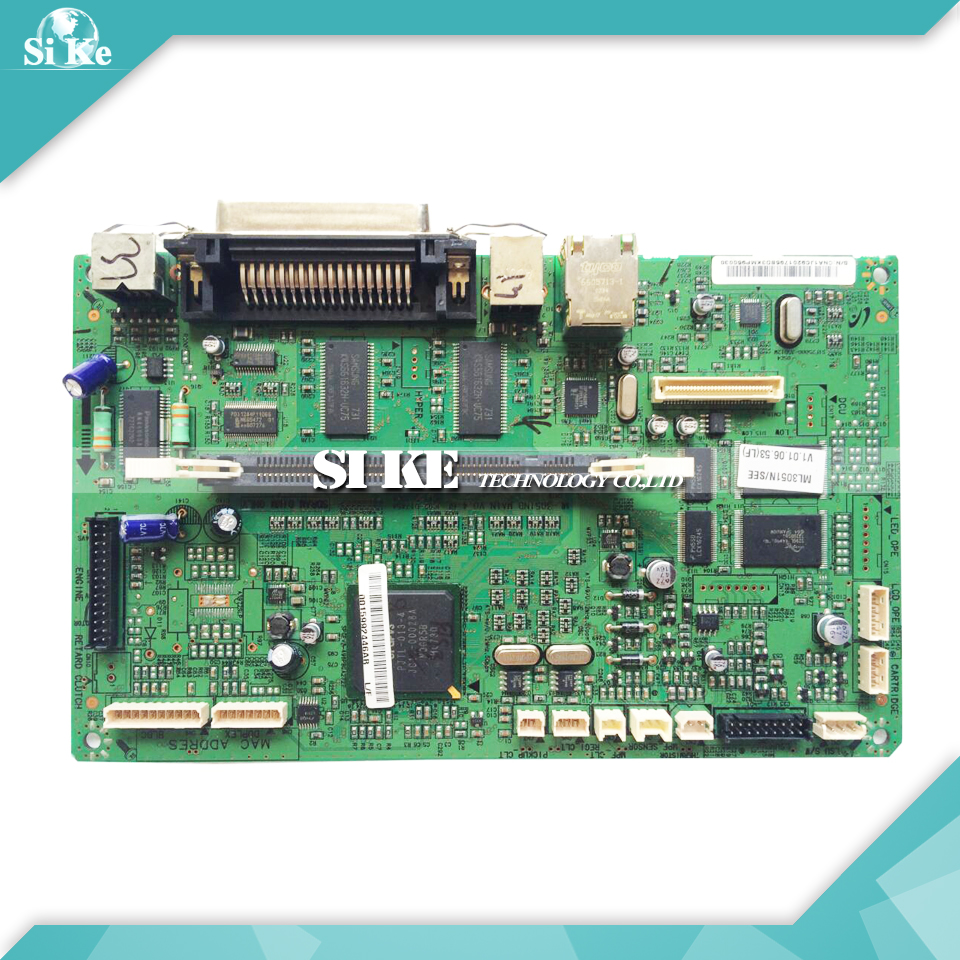 ФОТО Laser Printer Main Board For Samsung ML-3051N ML-3051ND ML-3051 ML 3051 3051ND 3051N Formatter Board Mainboard Logic Board