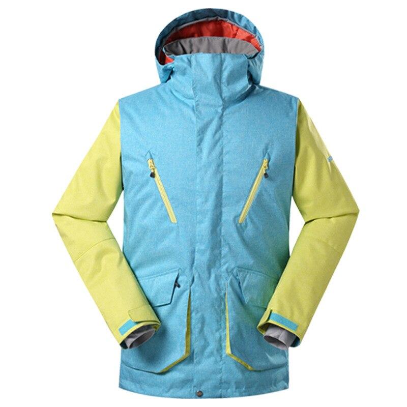 TUTA da sci GSOUSNOW, giacca da uomo, autentica scoperta, caldo traspirante, singolo, doppio snowboard, 1501TUTA da sci GSOUSNOW, giacca da uomo, autentica scoperta, caldo traspirante, singolo, doppio snowboard, 1501