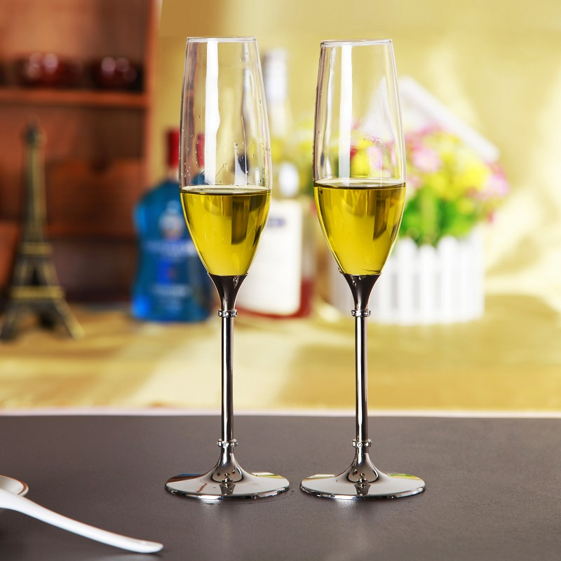 1Piece creative home glassware 240ML Crystal diamond wine cup shot glass straw wine glass Gifts for lovers