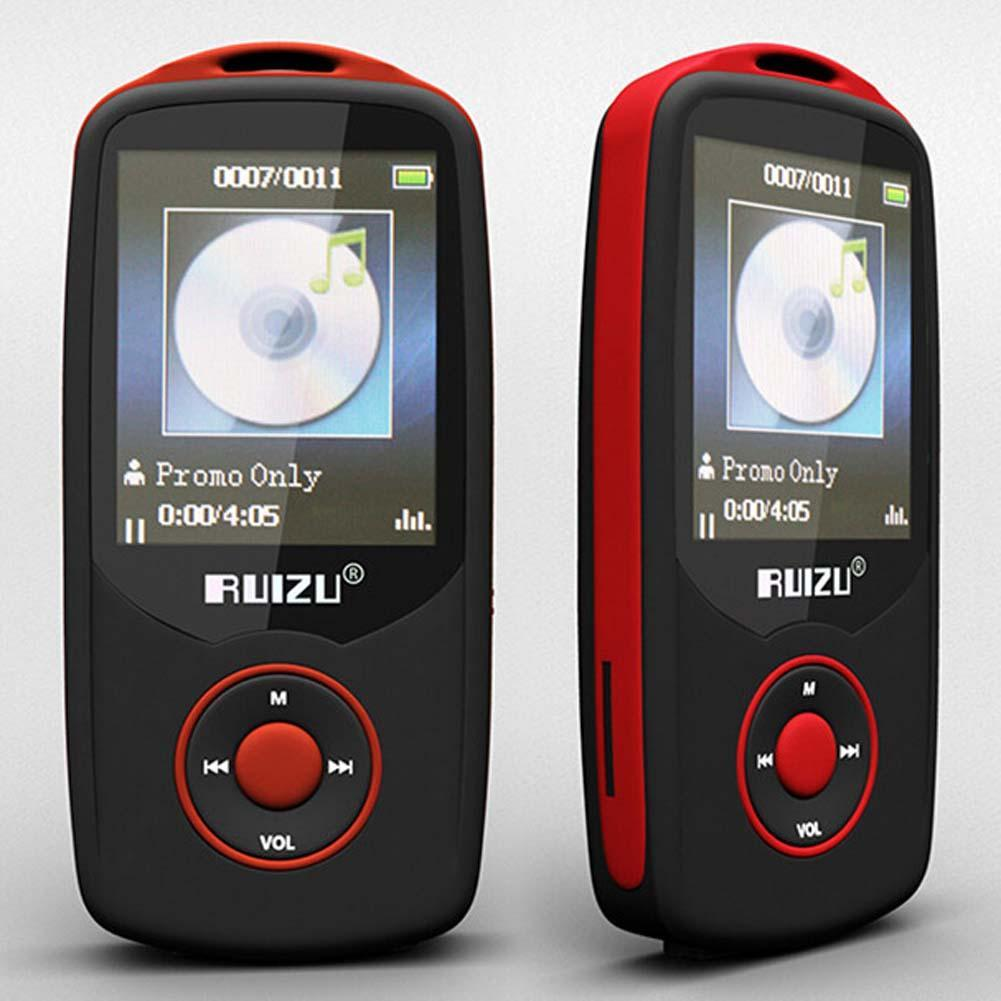 RUIZU X06 Bluetooth MP3 Player 4GB bluetooth 4.0 Sport With Player 70 Hours High Quality lossless Music player Recorder FM Radio