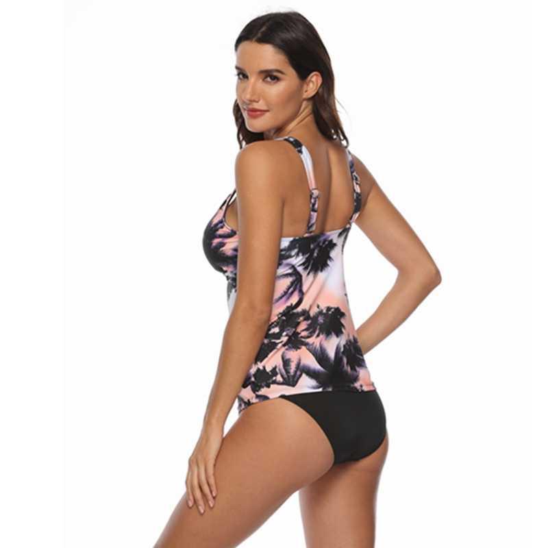 a06612fa00 ... 2019 New Push Up Swimwear Women Plus Size Swimsuit Two Pieces Tankini  Vintage Stripe Bathing Suit