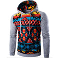 2106 Fashion Stripe Prints Mens Hooded Sweatshirt Stitching Raglan Sleeve Slim Fit Pullover Hoodies Jacket Men Hoody Tracksuit