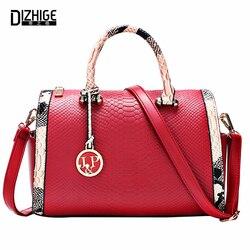 Bolsos Mujer 2015 mode Serpentine sacs en cuir sacs à main femmes marques célèbres dames sacs à bandoulière Designer Sac De Marque