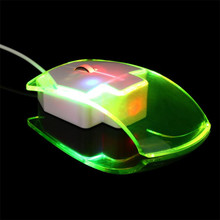 Brand Mouse Durable gaming mouse 1600 DPI Optical USB LED Wired Game Mouse Mice