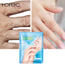 ROREC Milk Moisturizing Hand Mask Whitening Anti Wrinkle Hand Patch Remove Dead Skin Hand Anti-Drying Exfoliating Hand Skin Care