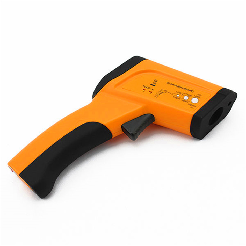 HT-6888 Non-contact High Temperature Infrared Thermometer Backlight LCD Display цена