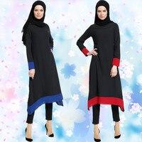 A029卸売20ピースあたりロットミックス色とサイズトルコ女性のドレスガウンファッションシフォン黒アバヤ長袖アラビアトー