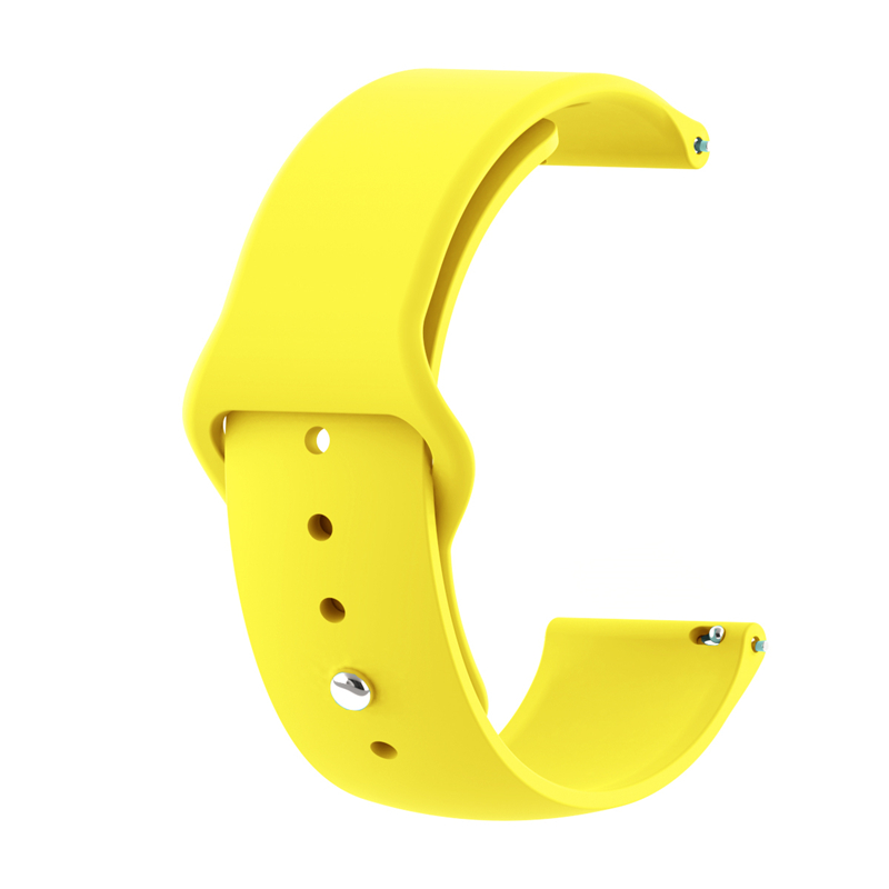 20mm 22mm Sport Silicone Watch Band Gear S2 Strap For Samsung Gear S3 Classic Frontier Galaxy Watch Correa Amazfit Bip Bracelet