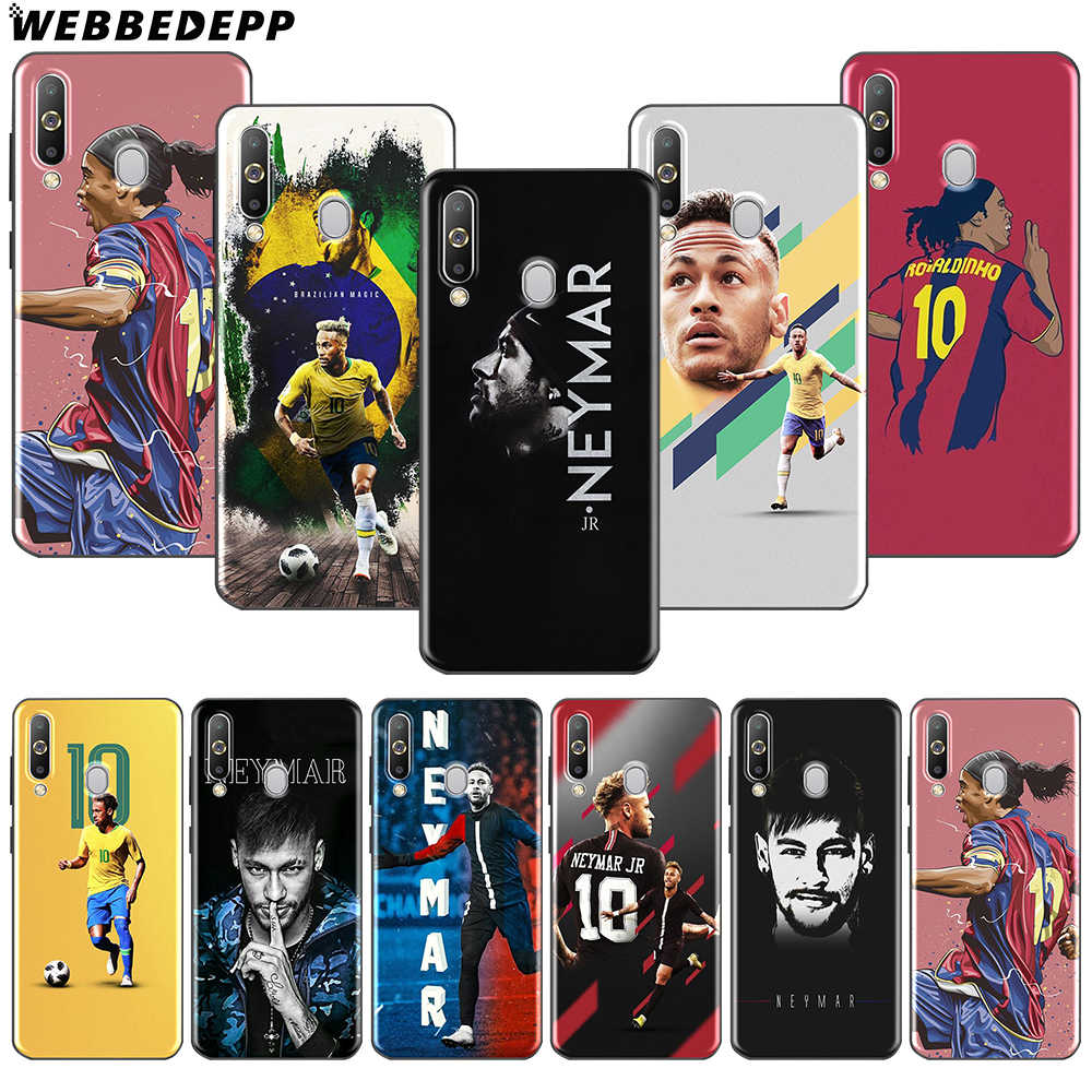 WEBBEDEPP Soccer Player Neymar 10 Soft TPU Case for Samsung Note 10 Plus A10S A20S A30S A40S A50S A60 A70 M10 M20 M30