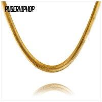 JFY Nieuwe Mode Stijl 29 Inch Snake Kettingen Goud En Zilverkleurige Plated Ketting Voor Bar Club Mannelijke/Vrouwelijke Hip Hop Sieraden Gift