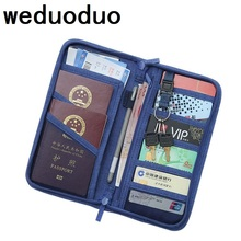 Women Travel  Passport Holder Card Package Credit Card Holder Wallet Document Package Fashion Multi Pockets Organizer Card Pack цены