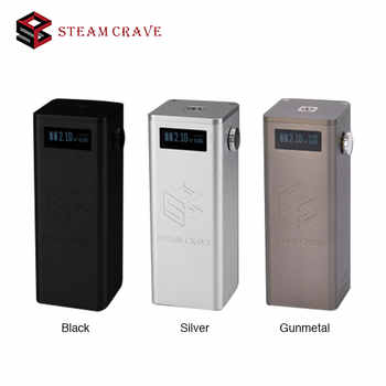 Original Steam Crave Titan PWM VV Box MOD Powered By Four 18650 Cells Max 300W Huge Power Best for Tanks of Huge Diameter Vape - DISCOUNT ITEM  20% OFF All Category