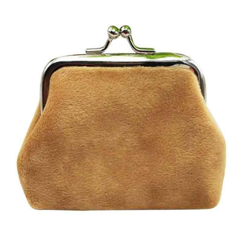 Maison fabre 1 шт. женские вельветовые небольшой бумажник держатель для монет кошелек, клатч, сумочка, на застежке, сумочка, клатч, сумка, Прямая поставка 3,28