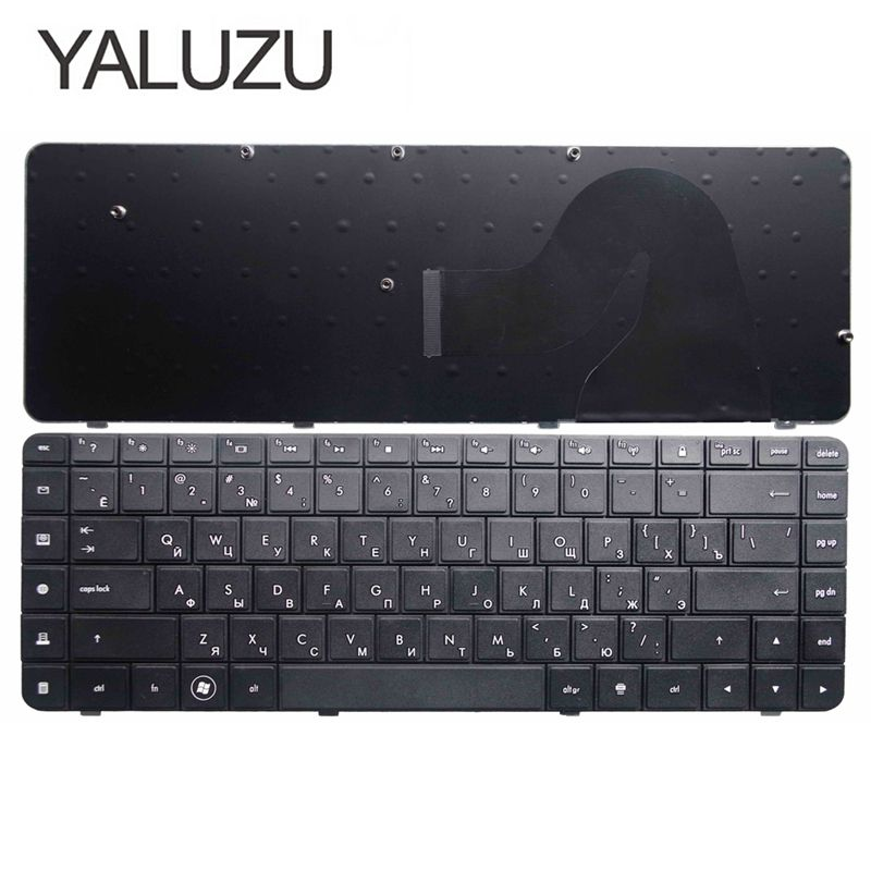 YALUZU For HP Compaq G56 G62 CQ62 CQ56 MP-09J83SU-886 605922-251 589301-251 V112346AS1 AEAX6700110 RU Russian Laptop Keyboard