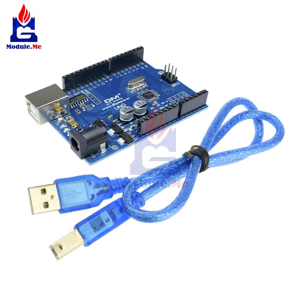 CH340 CH340G UNO R3 Carte D'extension ATmega328P 16 mhz USB Pilote Module Remplacer Atmega16U2 pour Arduino UNO R3 Conseil de Développement