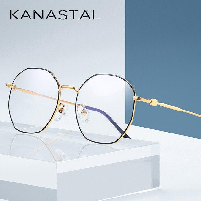 Anti Blue Light Glasses Women Men  Spectacle Frame Computer Gaming Eyewear Goggle for Men Radiation Resistant Glasses UV400