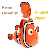 Finding Nemo Clownfish cospaly costume Pixar Animated Film Nemo baby kids clothing Halloween Christmas party цена