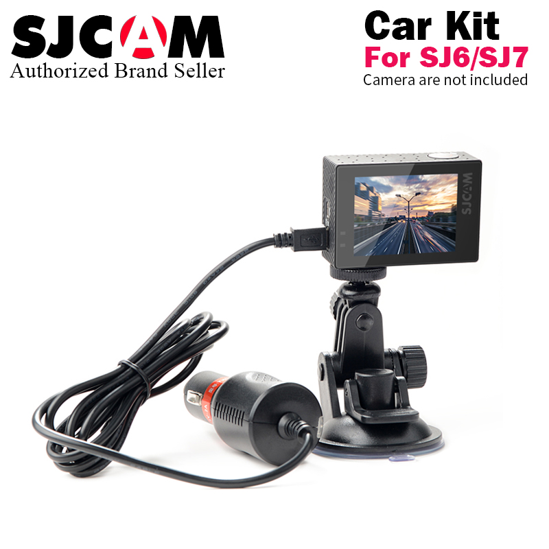 Accessory 3m Charger Cable and Bracket Sucker Holder for SJ6 Legend SJ7 Star 4K Wifi Sport