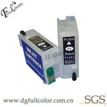 Free Shipping Compatible T1371 Black Ink Cartridge For K100 K200 K300 Printer Ink Cartridge