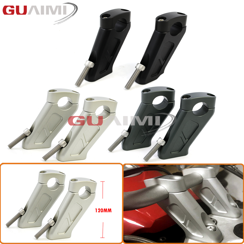 For BMW R1200GS 2008 2009 2010 2011 2012 R1200 GS LC Adventure 2008-2013 Motorcycle Handlebar Increase height Handle Bar Clamp 05 2008