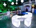 Горячая! водонепроницаемый Светящийся дугообразных змея стулья сочетание гостиной диван LED барная мебель модели взрыва продажи бар стул