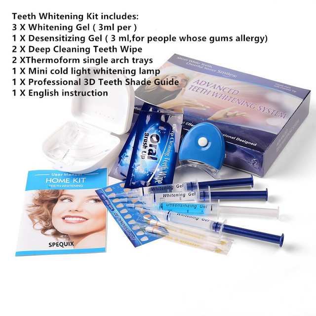 Профессиональный Домашний Отбеливание зубов комплект отбеливание зубов Comestic зубные перекиси Отбеливание зубов гель Уход за полостью рта Уход за зубами