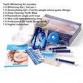 Comestic profissional Dentes Branqueamento Kit Casa Dentes Branqueamento Dental Oral Care Assistência Odontológica Peróxido Teeth Whitening Gel