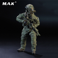 1/6 Scale Full Set Action Figure for Collection US Navy SEAL Team Six Solider M009 Male Figure Model Toys for Collection