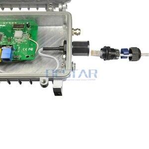 Image 5 - CAT5E RJ45 Wasserdichte Drüse Stecker Ethernet LAN Schwarz IP68 Schutz M20 CAT 5E RJ 45 männlich zu weiblich AP außen kabel