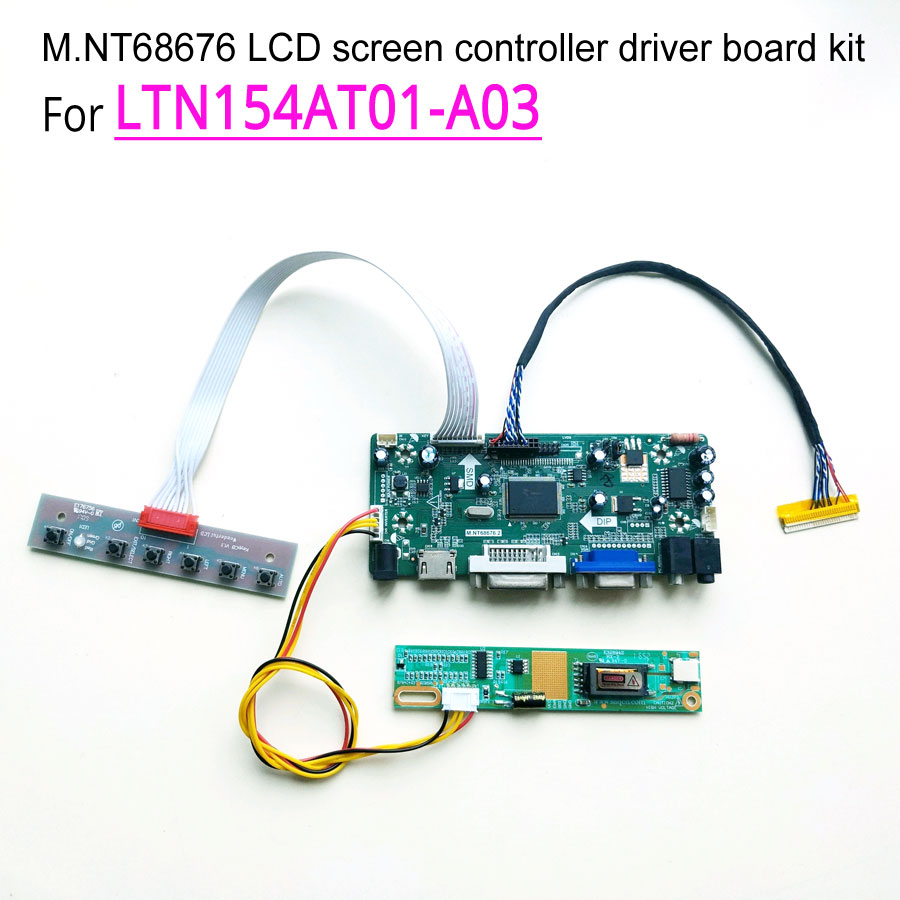 For LTN154AT01 A03 laptop LCD monitor 1 lamp 60Hz LVDS CCFL 1280 800 15 4 30