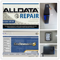 alldata auto repair software v10.53 and mitchell ondemand with 2tb hdd installed in computer 4g desktop ready to use